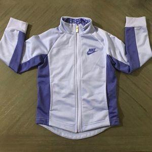 Toddler Girls Purple Nike Zip Up Sweater!!